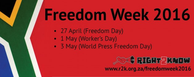 Freedom Week 2016: Stand for your Right to Organise!
