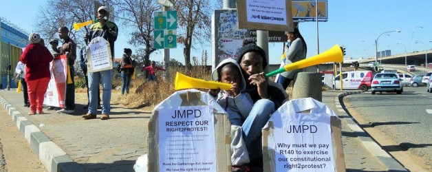 R2K Gauteng: Joburg Metro Police want money for gatherings