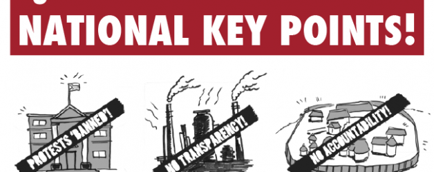 R2K's Activist Factsheet on NATIONAL KEY POINTS!