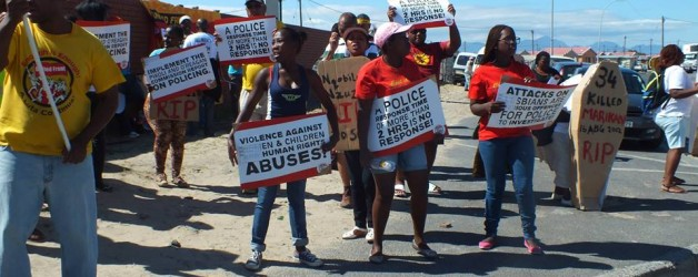 R2K Rally Against Police Brutality – Human Rights Day 2014