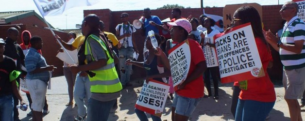 Statement: R2K Gauteng to hold a protest rally against police brutality on Human Rights Day