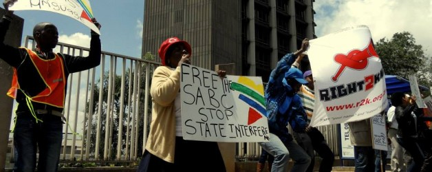 Right2Know to protest SABC canning of 'The Big Debate'