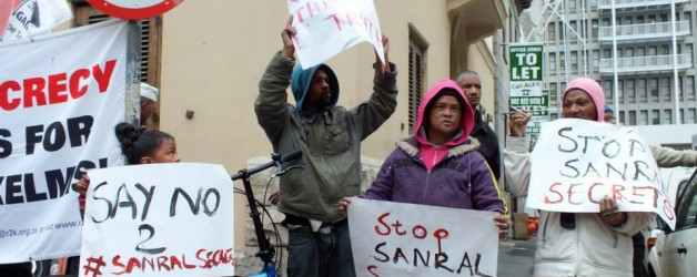 R2K Statement: SANRAL refuses to lift the veil of secrecy