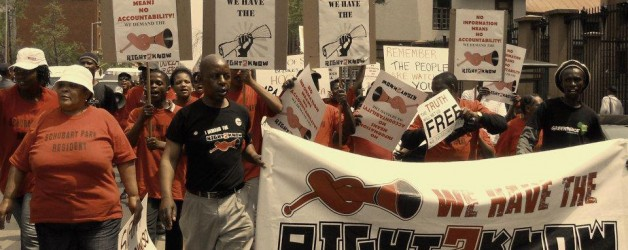 Right2Know to picket against Secrecy Bill
