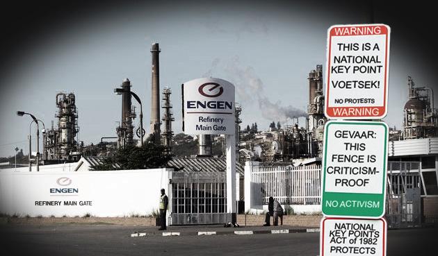 Engen refinery