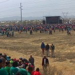 Picks and Video from Marikana  commemoration