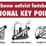R2K's Activist Factsheet on NATIONAL KEY POINTS!