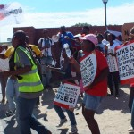 R2K Gauteng protest against police brutality in Joburg