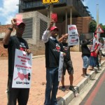 R2K Gauteng Secrecy Bill Picket at Constitutional Court Precinct